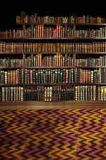Shelf Full Of Books 5' x 7' Background Computer Printed Backdrop HY-CM-2603