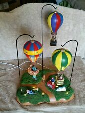 Lemax Carole Towne Lighted Animatronic Sky-High Park Christmas Collectible