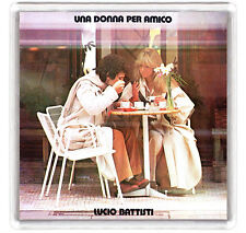 LUCIO BATTISTI - UNA DONNA PER AMICO LP COVER FRIDGE MAGNET IMAN NEVERA