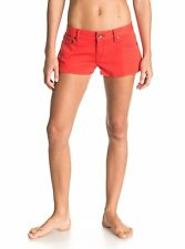 Roxy Shorts Forever Colors Orange Sz 27 Small Pants