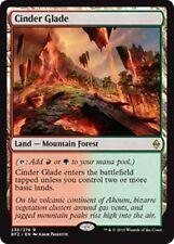 CINDER GLADE Battle for Zendikar MTG Land — Mountain Forest Rare