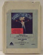 Barry Manilow Live 8 Track Stereo Tape Arista Records 1977