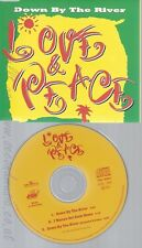 CD--LOVE & PEACE -- - SINGLE -- DOWN BY THE RIVER