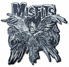 MISFITS DESCENDING ANGEL LOGO IRON ON PATCH OFFICIAL BAND MERCHANDISE IMPORT