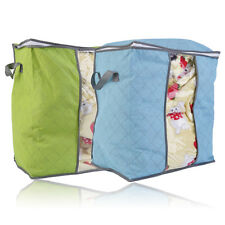 Foldable Room Blanket Quilt Clothing Bag Storage Box Holder Organizer FE