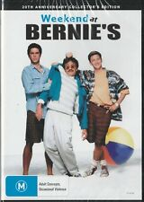 WEEKEND AT BERNIES - NEW & SEALED REGION 4 DVD - FREE LOCAL POST