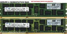 8gb (2x4gb) ddr3-pc3l-10600r 1333 ECC Registered server di memoria (RAM) 240 pin-cl9