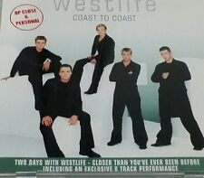 Westlife - Coast to coast VCD (2 disc) Taiwan press