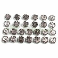 130 Wholesale Mixed Silver Letters Charms Pendants Fit Necklace Bracelets 141450
