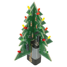 VELLEMAN 3D Christmas Tree Kit Assembly Required 16 Flashing Red LED Lower Power