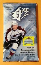 2013-14 Upper Deck SPx Hockey HOBBY 4cd Pack Case/Box Fresh 2 Rookie Class