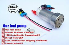 GENUINE WALBRO 450LPH HIGH FLOW FUEL PUMP F90000267 W/INSTALLATION KIT E85