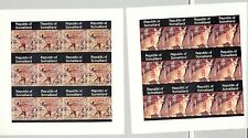 Somaliland (Propaganda) 1998 Scouts Red o/p African Animals 12v Imperf M/S of 12