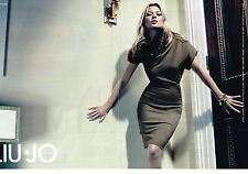 PUBLICITE ADVERTISING 014   2011   LIU-JO   mode  KATE MOSS  ( 2 pages)