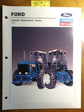 Ford New Holland Versatile 276 II Bidirectional Tractor Brochure 31027611 12/88