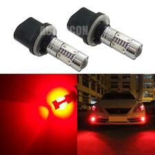 2pcs High Power Red 880 890 COB Projector LED Replace Bulbs For Car Fog Lights
