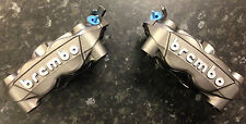 Suzuki Hayabusa Brembo 108mm Monoblock front brake calipers in titanium, pair of