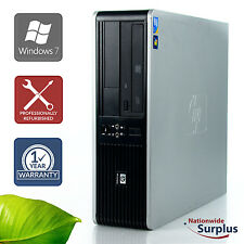 HP DC Series 7900 SFF Core 2 Duo E8400 3.0GHz 4GB 250GB Win 7 Hm 1 Yr Wty