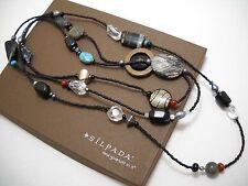 "NEW Designer SILPADA Boho Necklace, 60"" (N1967), NIB!"