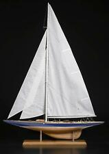 """Classic, Special Edition Wooden Model Ship Kit by Amati: the """"Endeavour J Class"""""""