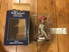 RYAN HOWARD 2006 MVP BOBBLE HEAD 2007 Collector's Edition with Ticket and Box