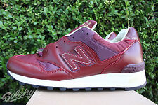 NEW BALANCE 577 SZ 8.5 TEST MATCH MADE IN UK DARK RED PLUM OXBLOOD  M577TLR