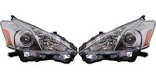 2012 2013 TOYOTA PRIUS V HEADLIGHT LAMP LEFT AND RIGHT PAIR SET