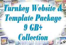 Turnkey Websites & Templates - 9GB package on DVD, Resell, Start making money!!