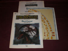 TSR Dungeons & Dragons Forgotten Realms Black Courser Adventure Module FRA2 D&D