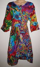 New Cotton Dress 18 20 - Hippy Ethnic Fairly Traded Boho Festival Patchwork