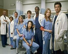 8X10 Greys Anatomy GLOSSY PHOTO photograph picture cast season 1 2 3 4 5 6 7