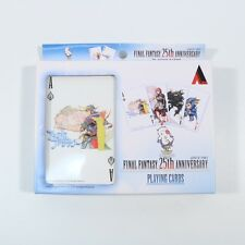 FINAL FANTASY 25TH ANNIVERSARY PROMO PLAYING CARDS - VERY RARE - BRAND NEW