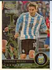 LIONEL MESSI 2015 PANINI SELECT SOCCER ULTIMATE TEAM CAMO PRIZM REFRACTOR /249
