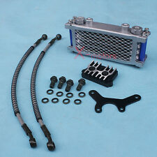 New Oil Cooler Radiator CNC Plate XR70 CR70 Pit bike 110cc 125cc 138cc Honda CR