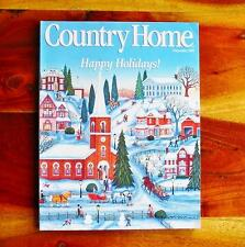Country Home Magazine Dec 1993 Christmas Debbee Thiebault WWII Ornaments