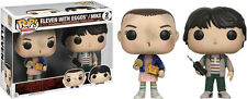 FUNKO POP VINYL STRANGER THINGS ELEVEN WITH EGGOS AND MIKE EXCLUSIVE 2 PACK SET