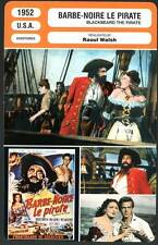 BARBE-NOIRE LE PIRATE - Newton,Darnell(Fiche Cinéma)1952 - Blackbeard the Pirate