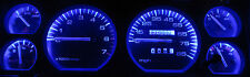 JEEP CHEROKEE XJ 1984 - 1996 SUPER BLUE LED SPEEDOMETER, GAUGE & DASH LIGHT KIT