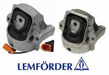 Audi 2WD A4 A5 2x Engine Mount Front Left Right oem Lemfoerder  New