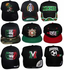 Mexico Mexican  Baseball Caps  Embroidered - Asstd Styles  12 Pc Lot ( ECapMx)