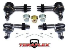 TeraFlex TJ Front High Steer Tie Rod End Replacement Kit for 97-06 Jeep Wrangler