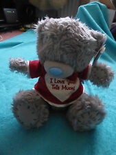 ME TO YOU TATTY TEDDY - VALENTINE BEAR  WITH RED I LOVE YOU THIS MUCH T-SHIRT