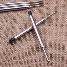 Hot Blue / Black Ink Parker Compatible 0.5mm Ballpoint Pen Refills Medium Nib