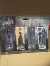 SD toys - Corpse Bride  Magnetic Bookmarks - Pack of 4
