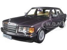 1991 MERCEDES 560 SEL BORNIT METALLIC 1/18 DIECAST MODEL CAR BY NOREV 183544