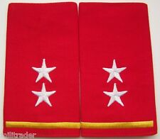 Timor-Leste Army Land Forces Major General Epaulets