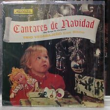 NM LP~TRIO VEGABAJENO Con Ritmo~Cantares De Navidad~Gay Songs For Christmas~1978