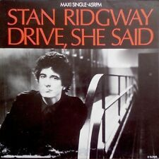 """Stan Ridgway Drive, She Said, Rio Greyhound ,Can't Stop The Show Holland 12"""""""