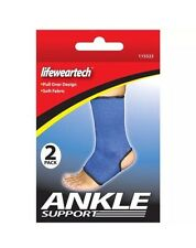 Ankle Support Male Female 2Pk Suitable Sports Activities Recovery Tissues Relax