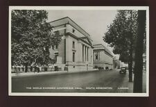 LONDON South Kensington Conference Hall Tuck #3899 RP PPC c1930s?